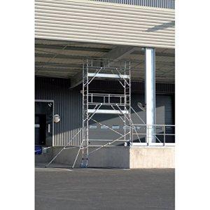 Echafaudage roulant en aluminium – Totem 2 Box 250.