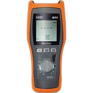 HT-Instruments M74 Multimètre numérique TRMS et VDE 0100