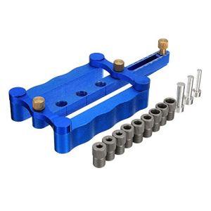 LMIAOM Outils de perçage de travail du bois de goujon métrique de centrage d'individu de centrage de 6/8 / 10mm Accessoires de bricolage