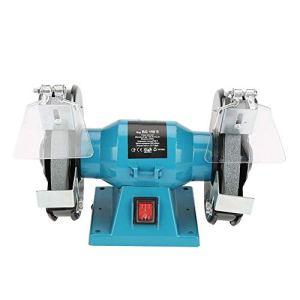 Meuleuse de banque 250 W, meuleuse à disque 150 mm, polisseuse électrique en métal pour maison, vitesse de rotation de 2956r/min, outil à ressorts, prise EU 220 V