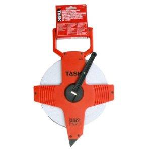 Outils de tâche Ts731200-feet ouvert Bobine de fibre de verre ruban à mesurer