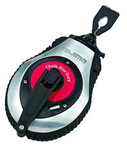 Tajima – CR401SD – Cordeau à tracer – Avec système d'enroulement rapide pour la coupe et le marquage des supports – 1mm x 30m