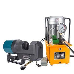 MXBAOHENG Électrique Hydraulique Rebar Cutter Acier Rebar Découpeuse Pour Acier Rebar Gamme De Coupe 8-35mm avec 1.5KW Pompe