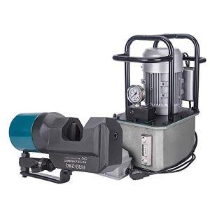 MXBAOHENG Électrique Hydraulique Rebar Cutter Acier Rebar Découpeuse Pour Acier Rebar Gamme De Coupe 8-35mm avec MEN-208E Pompe