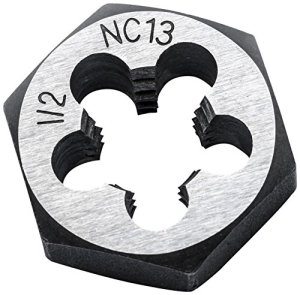 Clé 388759N 8x 1,25mm NC hexagonale Die, Noir