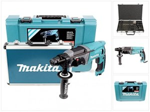 Makita HR2470+D-42444 Perforateur Burineur SDS Plus 780W + Coffret 17 Burins et Forets