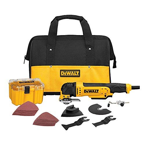 DeWALT Dwe315K Multi Matière Corded oscillant Outil Kit, DWE315K