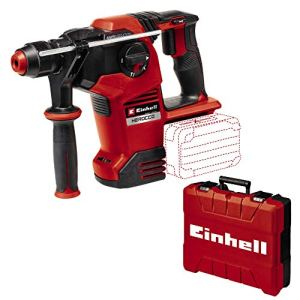 Einhell Marteau-perforateur sans fil Herocco 36/28 Power X-Change (Twin-Pack, perçage, perforage et burinage avec et sans fixation du burin, 3.2 J, coffret E-Box, sans batterie ni chargeur)