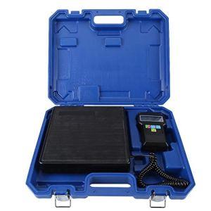 Zerone- Balance électronique pour réfrigérants 100 kg avec étui Bleu