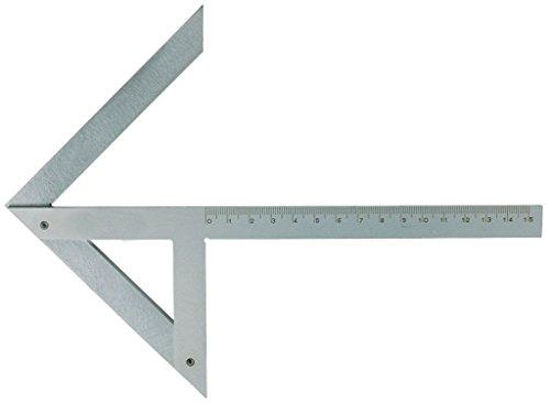 Equerre · centrer de précision en acier inox , 150×130 mm.