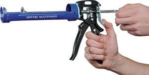 Heytec 50817910100 Multipower Pistolet pour cartouches, Bleu/noir
