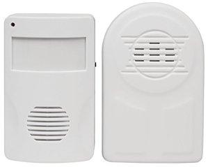 MC POWER 1534264 McPower DB-36 Détecteur infrarouge et sonnette jusqu'à 30 m