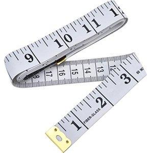 Mètres à Ruban pour Sewing Tailor Tissu Ruler Blanc 60 pouces