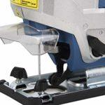Scie sauteuse électronique 800 W 0-45° (0-3000 RPM)