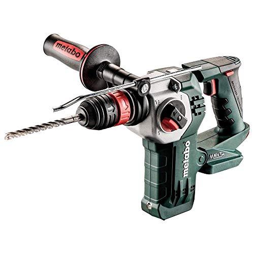 AKK de marteau/Batterie–Marteau combiné KHA 18LTX BL 24Quick | + Butée de profondeur, poignée supplémentaire, Metabo vibratech et Metabo Quick | 0-1200/min/2,2J