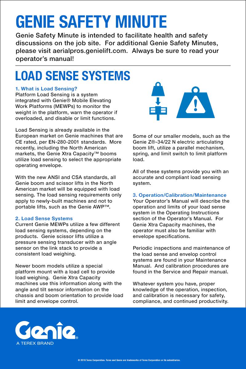 hight resolution of load sense