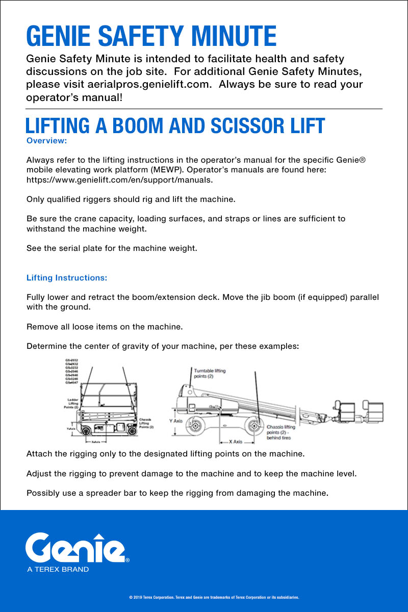 medium resolution of lifting a boom