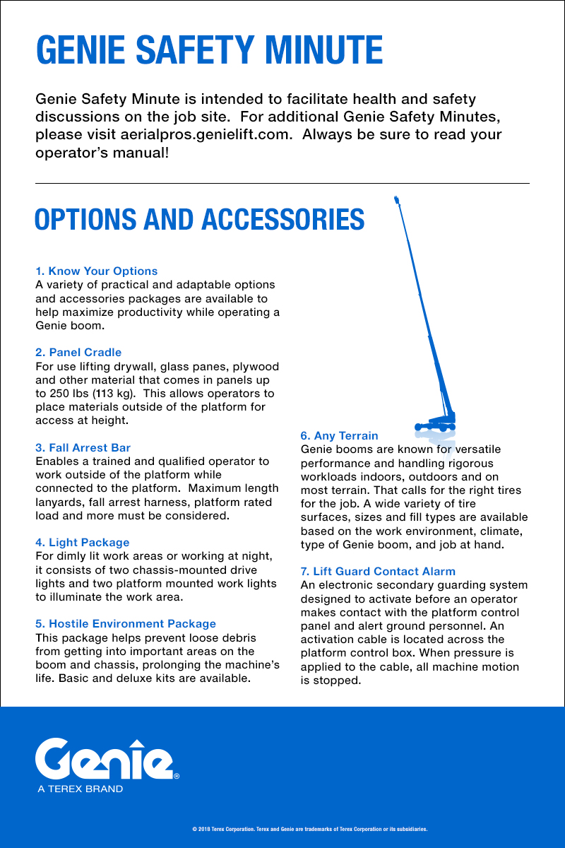 hight resolution of options and accessories