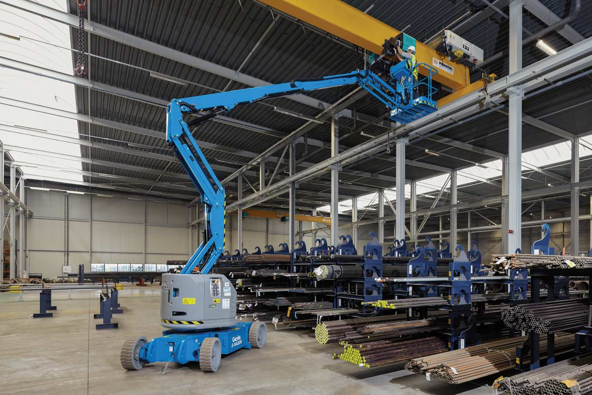 small resolution of  genie z 34 22 n articulating boom lift