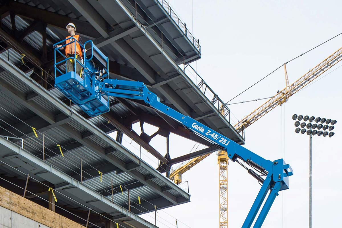 hight resolution of genie z 45 25 rt articulating boom lift