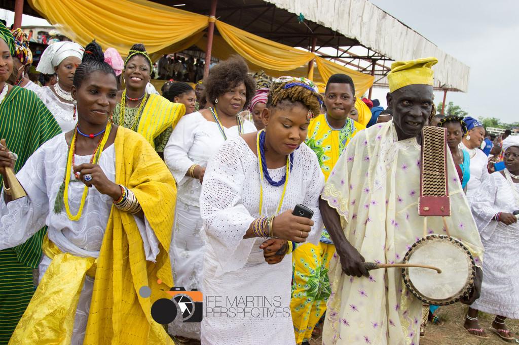 Osun festival in Nigeria