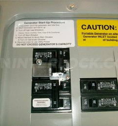 oem model generator interlock kit eaton cutler hammer 100 amp panels br series [ 1600 x 1200 Pixel ]