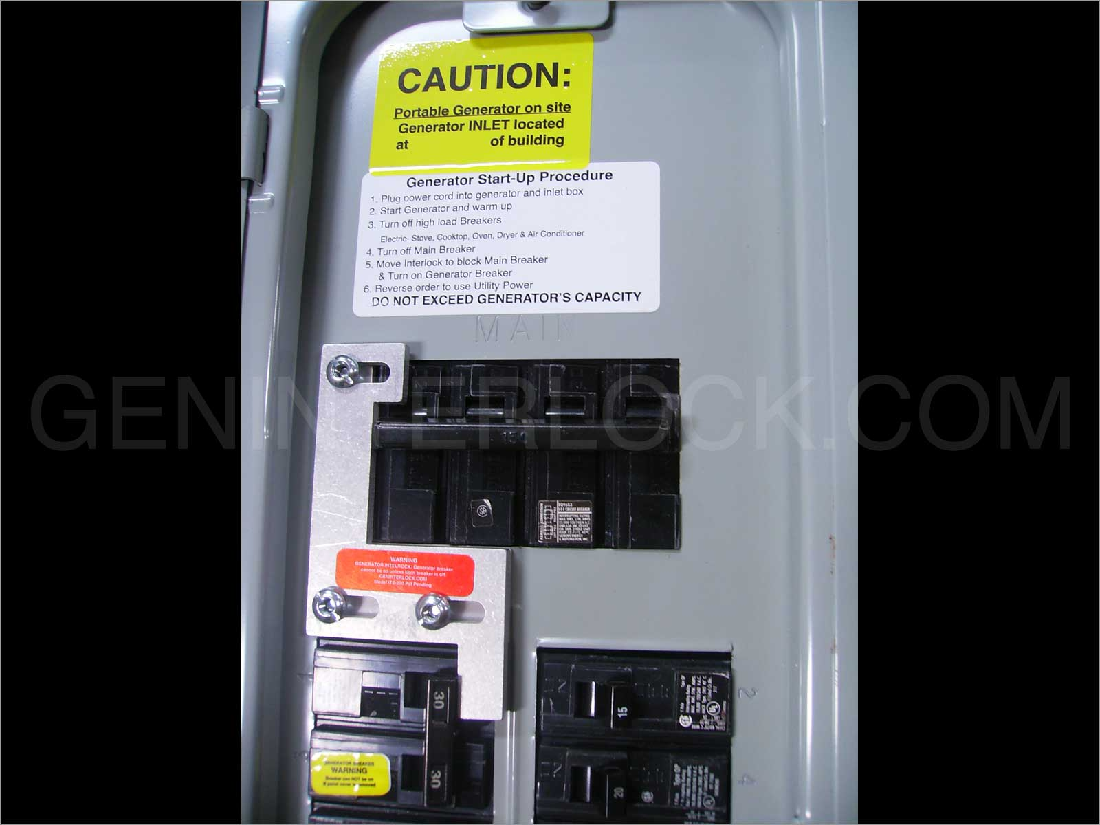 Manual Transfer Switch Connecting To Your Main Circuitbreaker