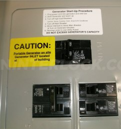 how to wire siemens generator panel generator interlock kit siemens and murray 100 amp panels [ 1600 x 1200 Pixel ]