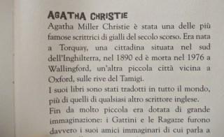 Agatha Christie e il fazzoletto cifrato: biografia