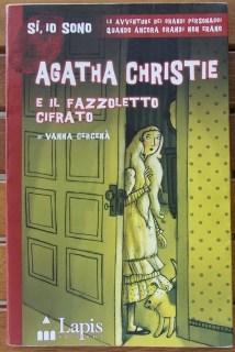 Agatha Christie e il fazzoletto cifrato: copertina