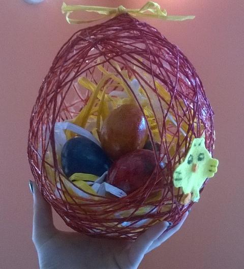 Centrotavola Pasquale: Handmade Easter   Genitorialmente