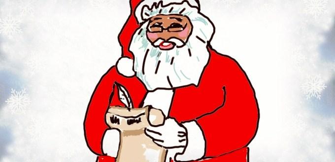 Genitorialmente   Letterina da Babbo Natale
