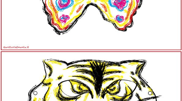 Maschere di carnevale da scaricare: Organizzare la festa | Genitorialmente