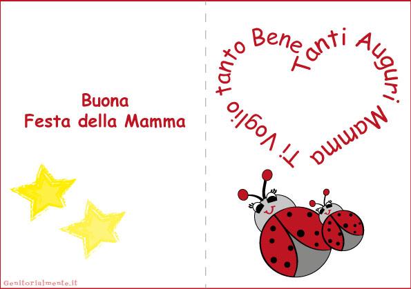 Biglietti Di Natale Per La Mamma.Biglietti Per La Festa Della Mamma Da Stampare Genitorialmente
