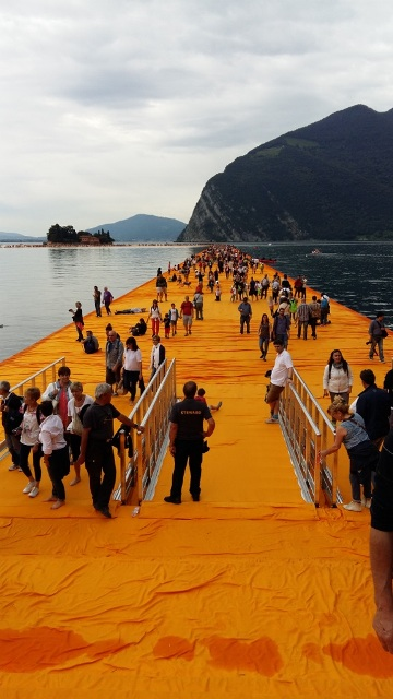 The Floating Piers | Genitorialmente