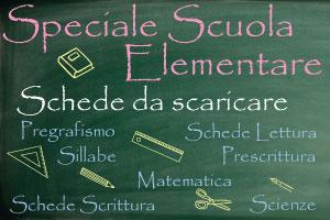 Scuola – Schede da scaricare - Genitorialmente