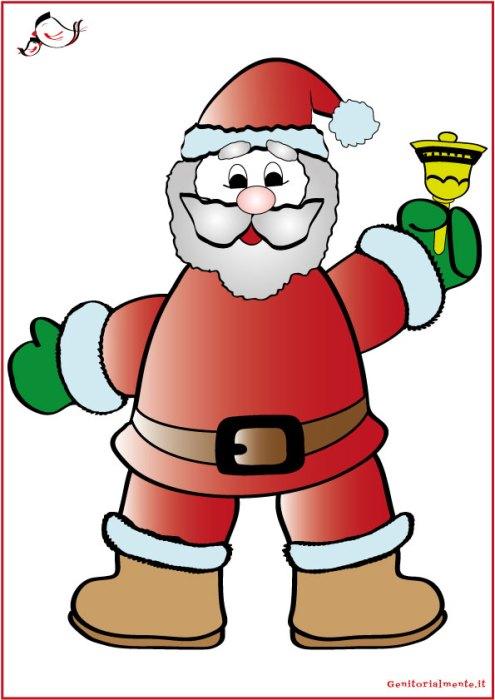 Decorazioni natalizie per finestre da scaricare | Genitorialmente