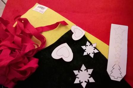 Lavoretti per bambini in feltro Segnalibri di Natale | Genitorialmente