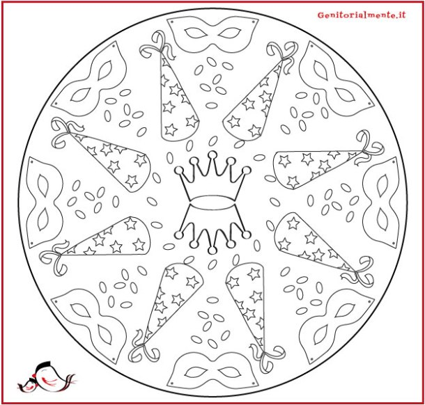 Mandala Di Primavera Per Bambini Da Colorare Mandalas Para Imprimir