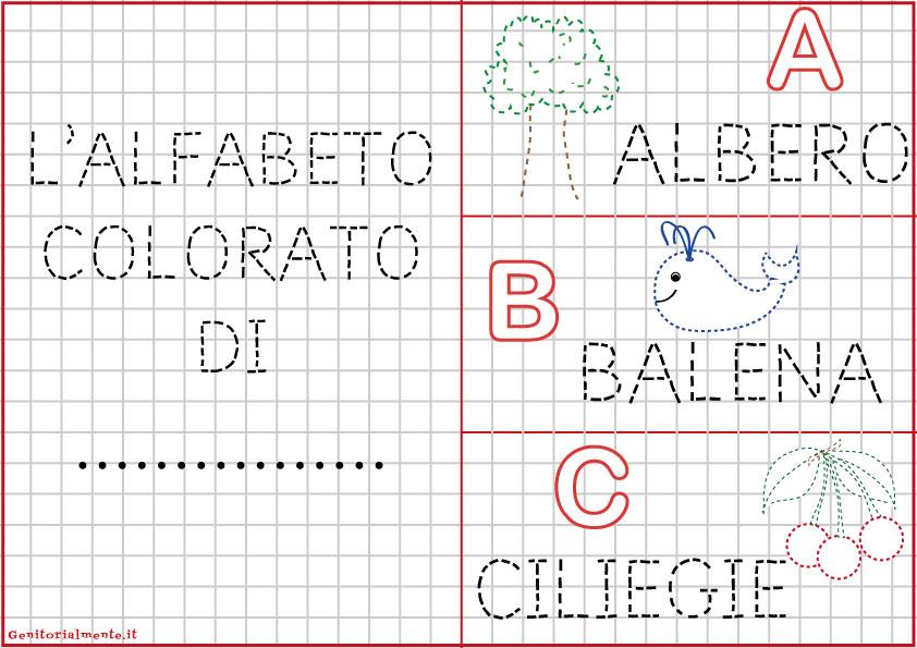 alfabeto italiano da scaricare