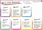 Genitorialmente   Menu settimanale per genitori organizzati 6 febbraio