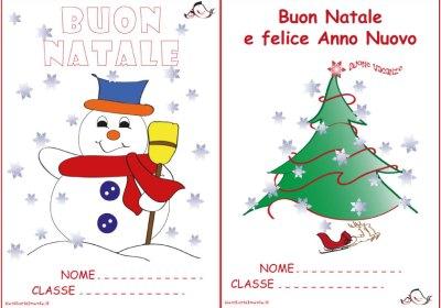 Copertina dei compiti delle vacanze di Natale | Genitorialmente