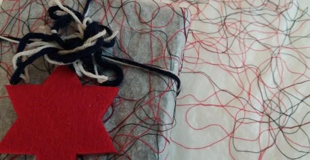Come incartare i regali in modo diverso: carta fai da te | Genitorialmente