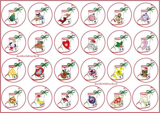 Calendario dell'avvento fai da te per bambini ...