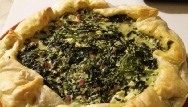 Torta salata ricotta erbette e pancetta   Genitorialmente