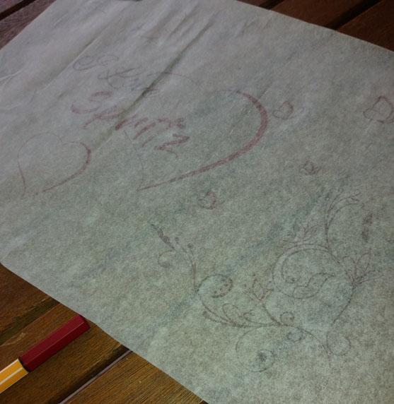 Come decorare la parete con le scritte shabby chic | Genitorialmente