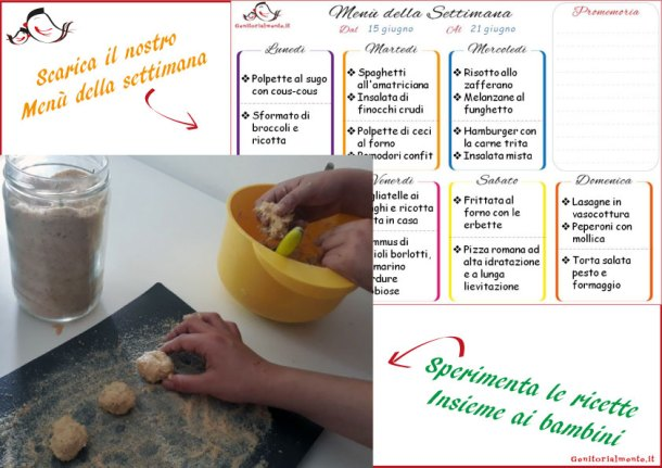 Cosa cucinare con i bambini: ricette e menù da fare insieme   Genitorialmente