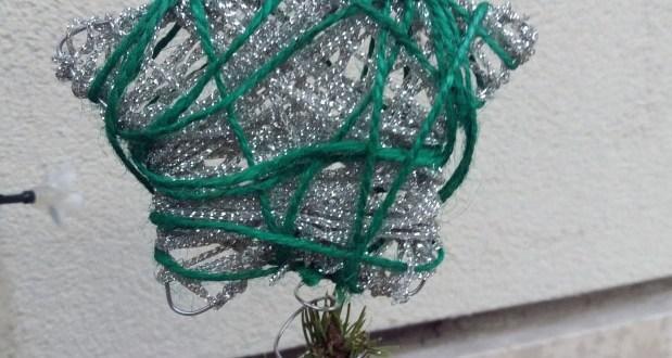 Puntale albero di Natale fai da te – decorazioni natalizie | Genitorialmente
