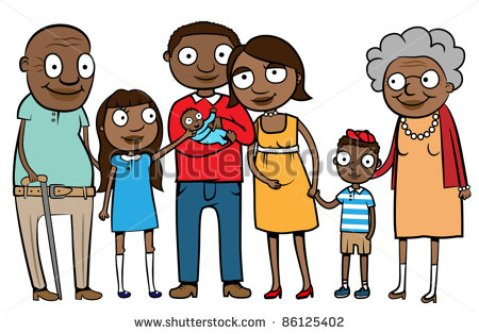 extended-family-clipart-black-and-white-300979--and-grandparents-vector-illustration-86125402