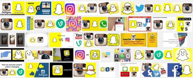 snapchat-instagram